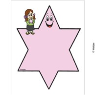 Six Pointed Blank Star