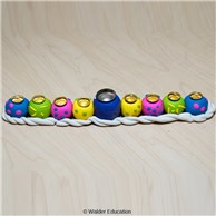 Easy-Roll Polymer Clay Menorah