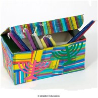 Mod Podge Chanukah Storage Box