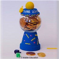 Chanukah Treat Gumball Machine