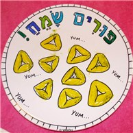 Fun and Easy Purim Plates
