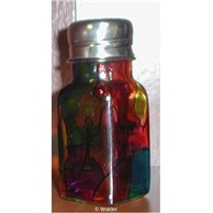 Stained Glass Salt Shakers