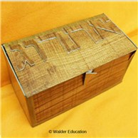 Faux Wood Esrog Box