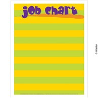 Striped job chart