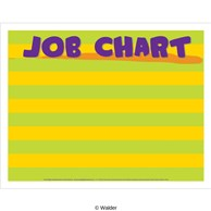 Striped job chart horizontal