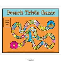 Pesach Trivia Game Poster Version