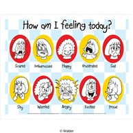 How am I feeling today poster list