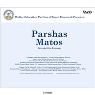 Parshas Matos Interactive Smartboard Lesson